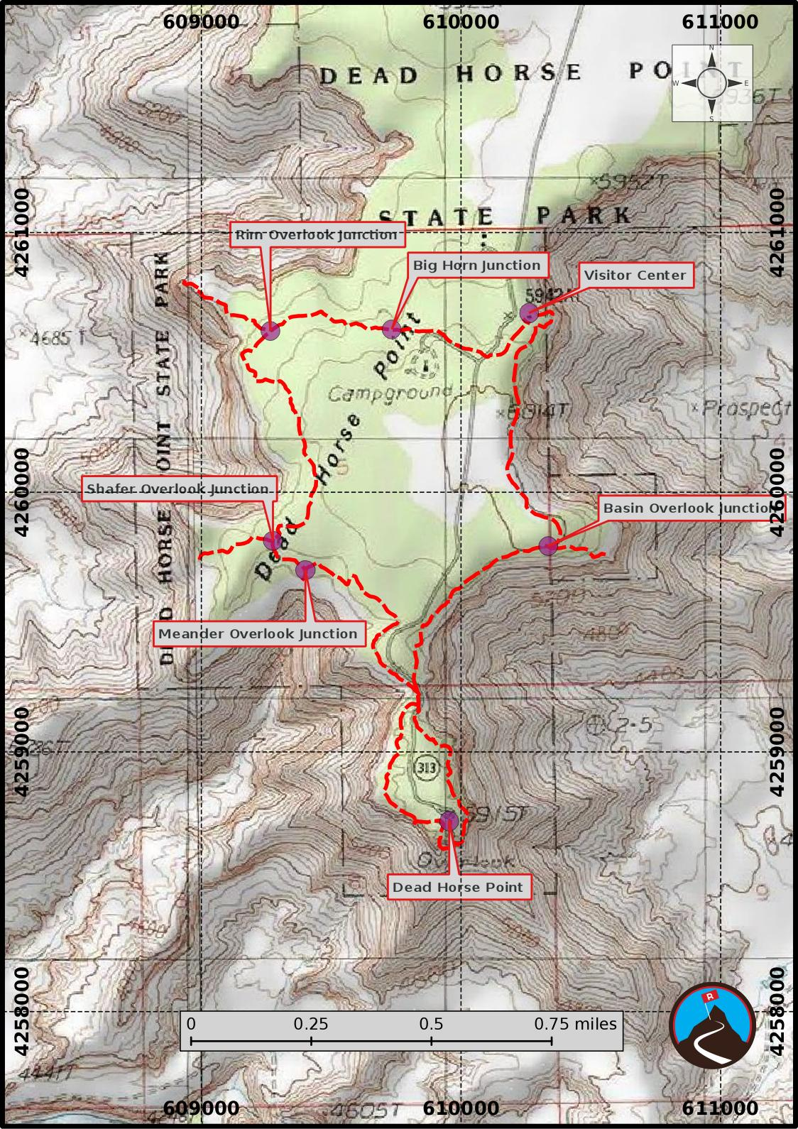 Hiking Dead Horse State Park - Moab - Road Trip Ryan on pillars of eternity map, destiny map, the forest map, thief map, fallen earth map, canyonlands national park map, moab utah map, dark souls map, total eclipse map, project zomboid map,