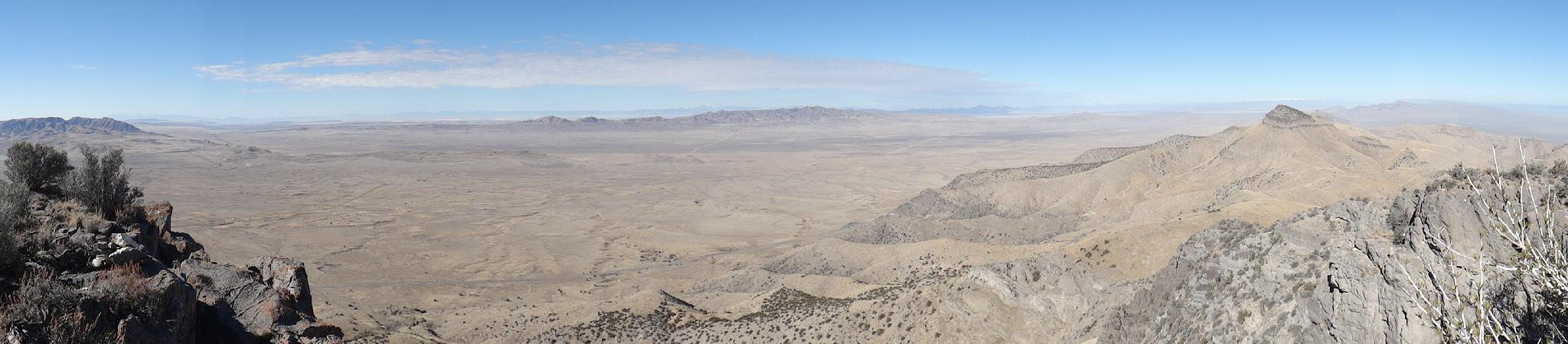 Looking west from the summit area of Craner Peak.