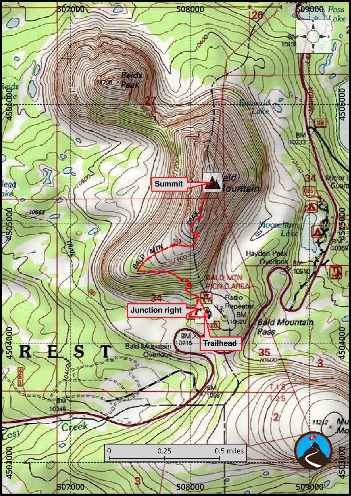 Hiking Bald Mountain - Uinta Mountains - Road Trip Ryan