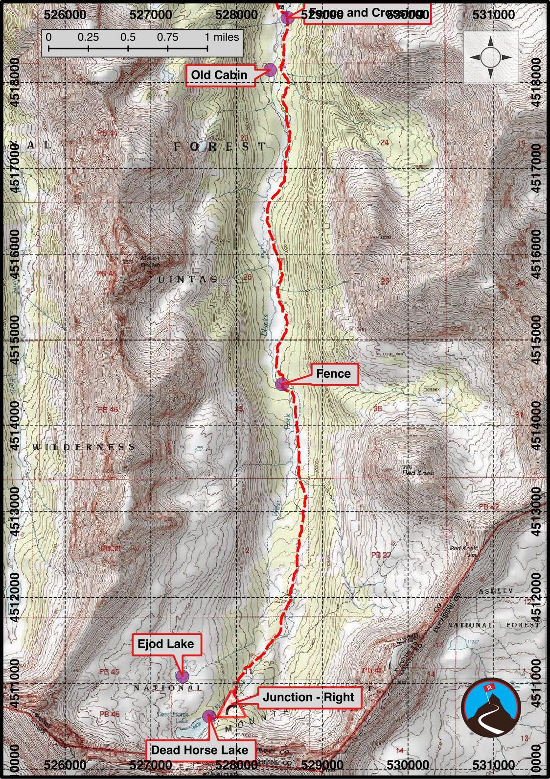 Hiking Dead Horse Lake - Uinta Mountains - Road Trip Ryan