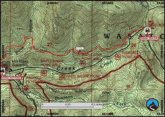Pipeline Trail Hiking Map (3/3)