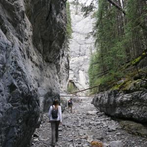 Grotto Canyon - Canmore Canada