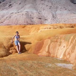 Roadside Attraction Crystal Geyser - Green River - Road Trip