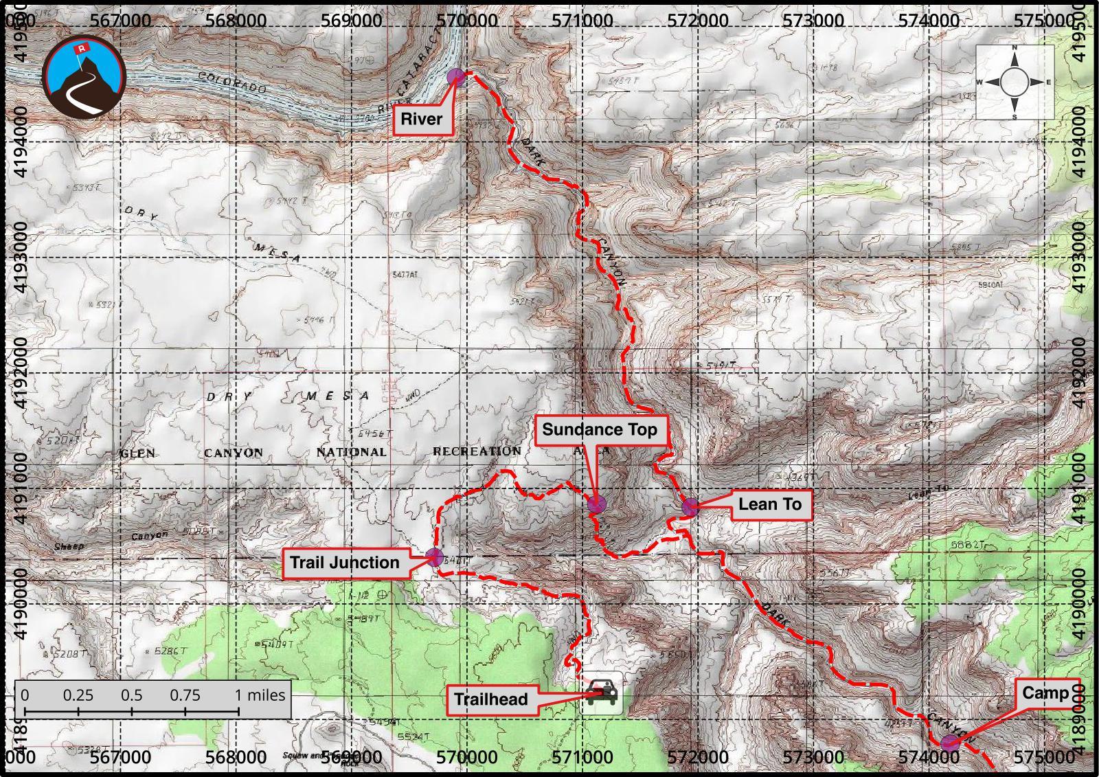 Hiking Sundance Trail Dark Canyon Road Trip Ryan