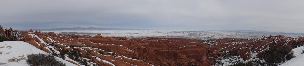 Panorama From Near Black Arch Viewpoint