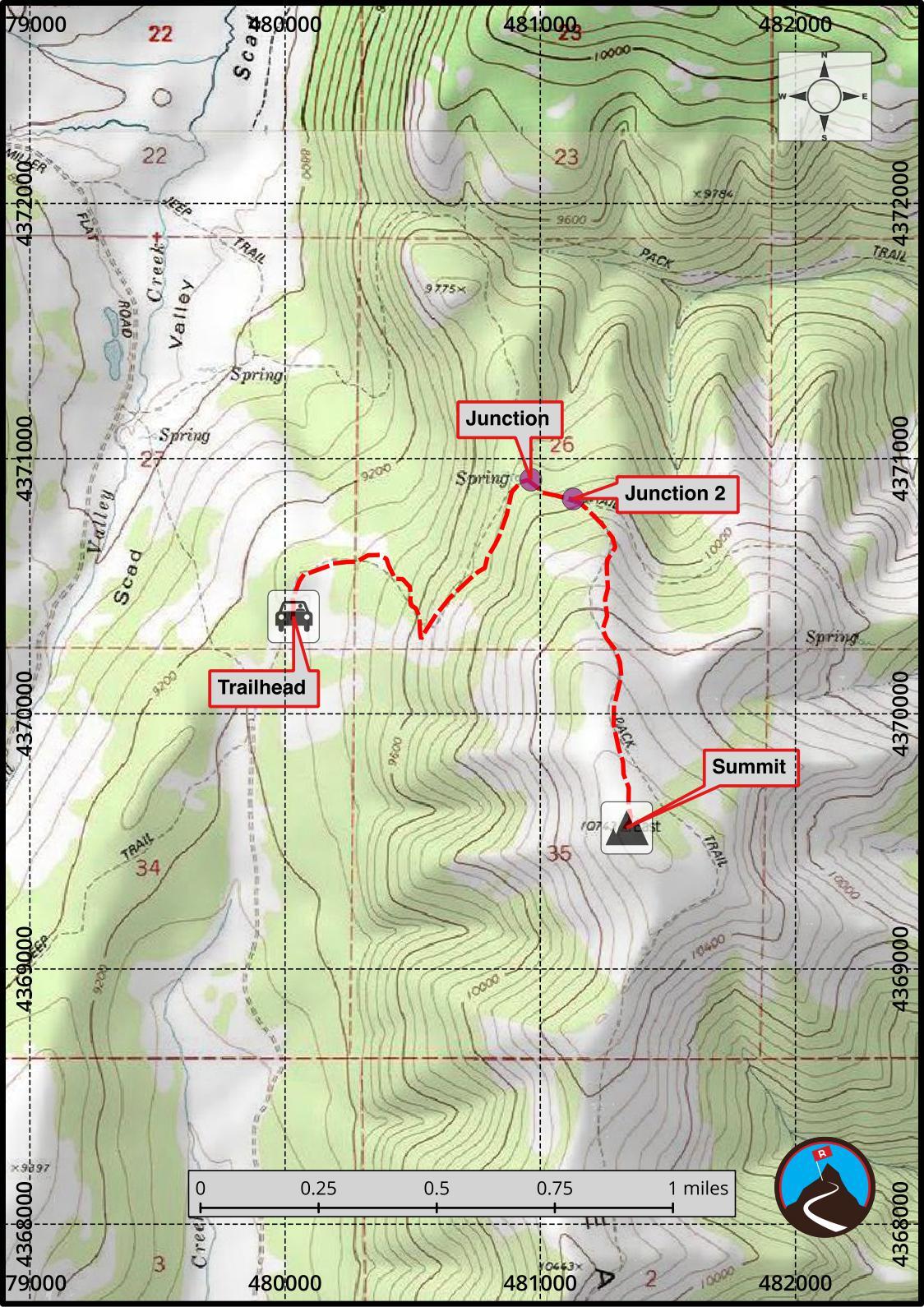 Hiking East Mountain - Emery County Highpoint | Road Trip Ryan