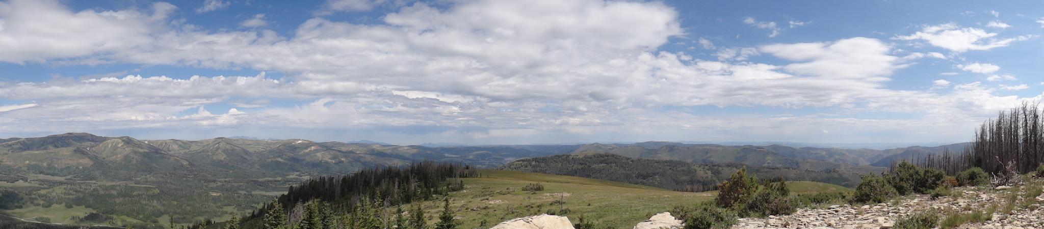 Panorama from East Mountain summit